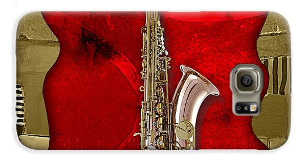 Saxophone Collection Galaxy S6 Case by Marvin Blaine