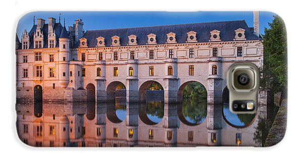 Chateau Chenonceau Galaxy S6 Case by Brian Jannsen
