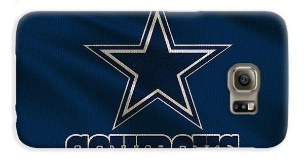 Dallas Cowboys Uniform Galaxy S6 Case by Joe Hamilton