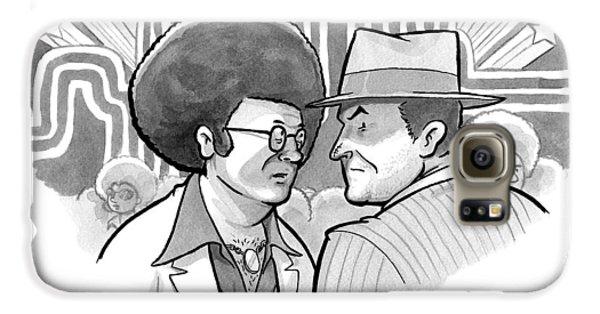 A 70's Disco Man Speaks To Jack Nicholson's Galaxy S6 Case by Benjamin Schwartz