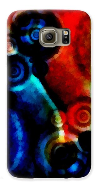 A Drop In The Puddle 1 Galaxy S6 Case by Angelina Vick