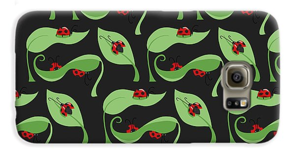 A Litte Bug Galaxy S6 Case by Debra  Miller
