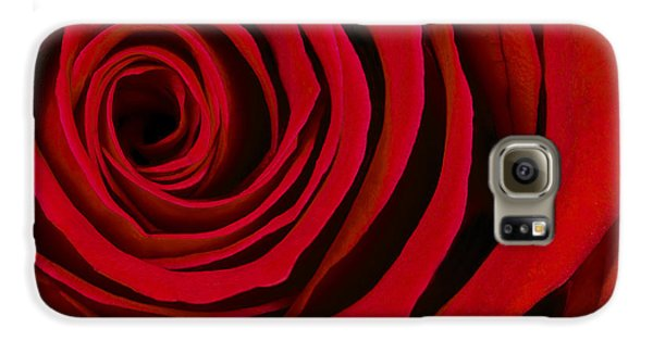 A Rose For Valentine's Day Galaxy S6 Case by Adam Romanowicz