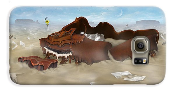 A Slow Death In Piano Valley - Panoramic Galaxy S6 Case by Mike McGlothlen