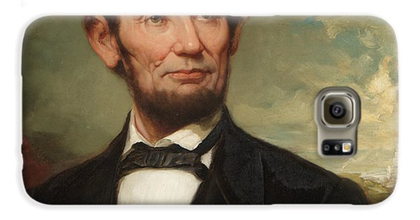 Abraham Lincoln  Galaxy S6 Case by George Henry Story