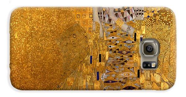 Adele Bloch Bauers Portrait Galaxy S6 Case by Gustive Klimt