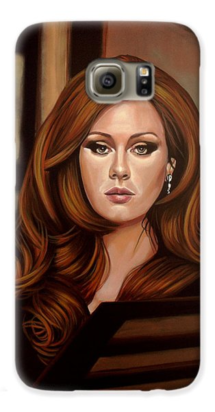 Adele Galaxy S6 Case by Paul Meijering