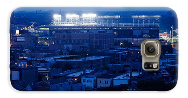Aerial View Of A City, Wrigley Field Galaxy S6 Case by Panoramic Images