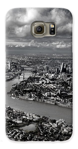 Aerial View Of London 4 Galaxy S6 Case by Mark Rogan