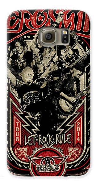 Aerosmith - Let Rock Rule World Tour Galaxy S6 Case by Epic Rights