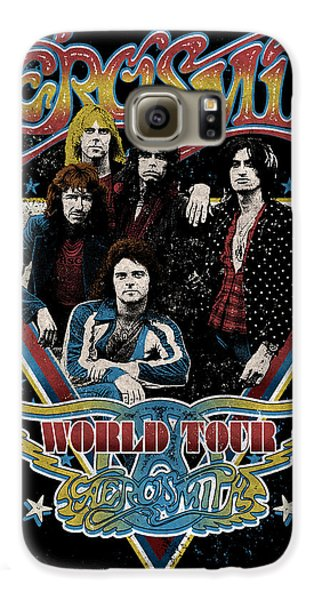 Aerosmith - World Tour 1977 Galaxy S6 Case by Epic Rights