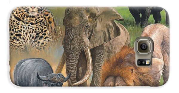 Africa's Big Five Galaxy S6 Case by David Stribbling