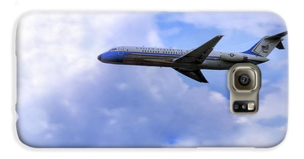 Air Force One - Mcdonnell Douglas - Dc-9 Galaxy S6 Case by Jason Politte