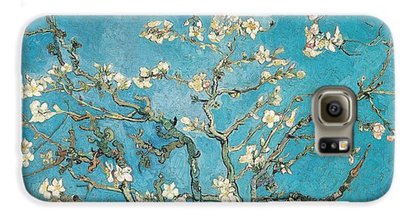 Almond Branches In Bloom Galaxy S6 Case by Vincent van Gogh
