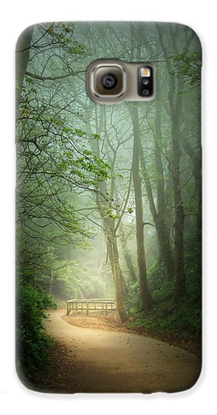 Along The Path Galaxy Case by Svetlana Sewell
