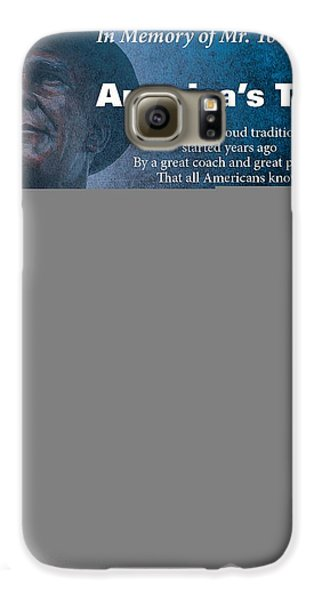 America's Team Poetry Art Galaxy Case by Stanley Mathis