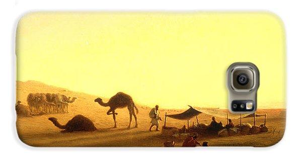 An Arab Encampment  Galaxy S6 Case by Charles Theodore Frere