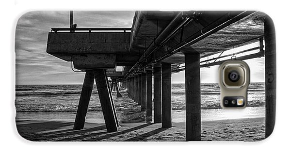 An Evening At Venice Beach Pier Galaxy S6 Case by Ana V Ramirez