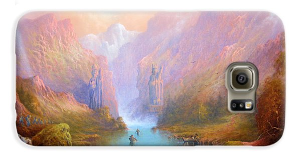 Anduin The Great River Galaxy S6 Case by Joe  Gilronan