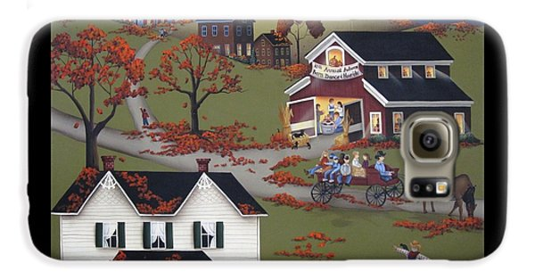 Annual Barn Dance And Hayride Galaxy S6 Case by Catherine Holman