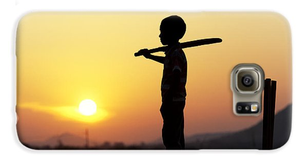 Any One For Cricket Galaxy S6 Case by Tim Gainey