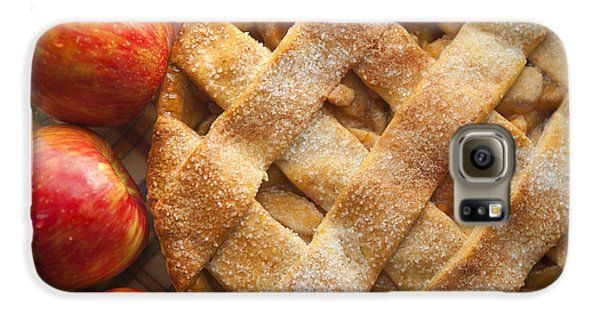 Apple Pie With Lattice Crust Galaxy S6 Case by Diane Diederich