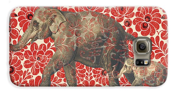 Asian Elephant-jp2185 Galaxy S6 Case by Jean Plout