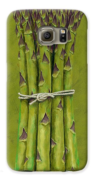 Asparagus Galaxy S6 Case by Brian James
