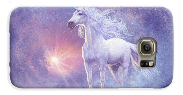 Astral Unicorn Galaxy S6 Case by Steve Read