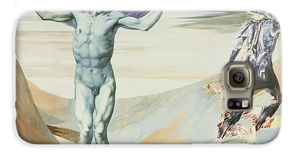 Atlas Turned To Stone, C.1876 Galaxy S6 Case by Sir Edward Coley Burne-Jones