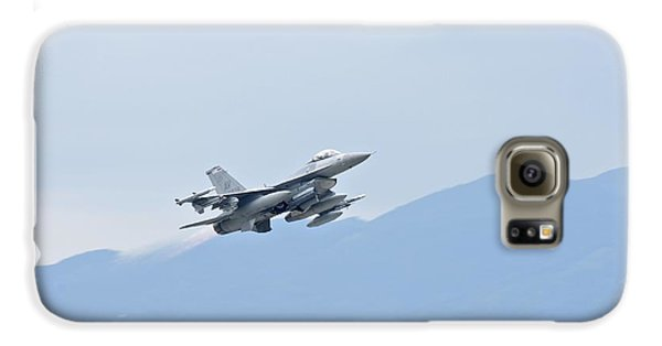 Aviano F16 Galaxy S6 Case by Staff Sgt Jessica Hines