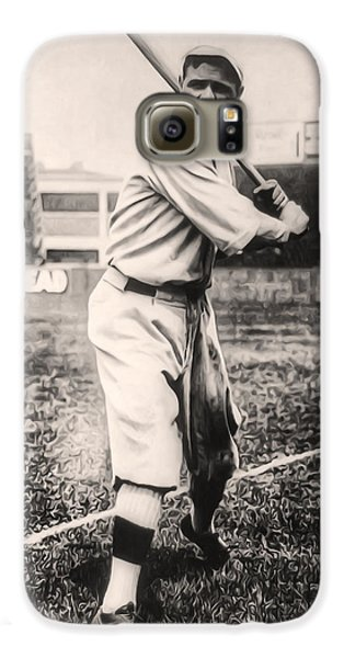 Babe Ruth Galaxy S6 Case by Digital Reproductions