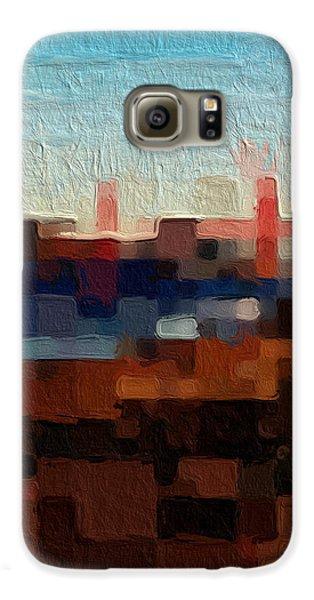 Baker Beach Galaxy S6 Case by Linda Woods