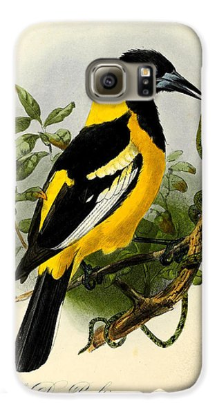Baltimore Oriole Galaxy S6 Case by J G Keulemans
