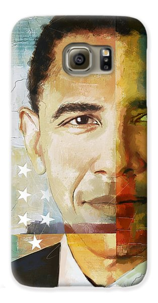 Barack Obama Galaxy S6 Case by Corporate Art Task Force