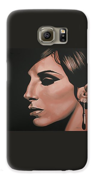 Barbra Streisand Galaxy S6 Case by Paul Meijering