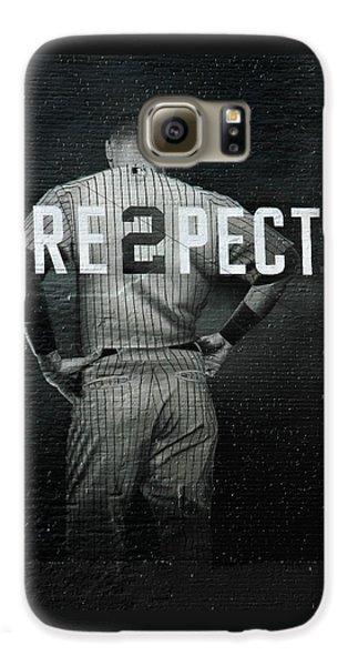 Baseball Galaxy S6 Case by Jewels Blake Hamrick