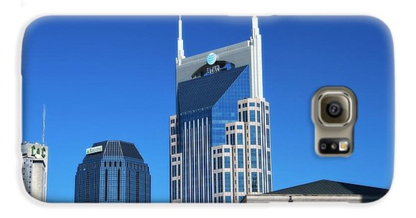 Batman Building And Nashville Skyline Galaxy S6 Case by Dan Sproul