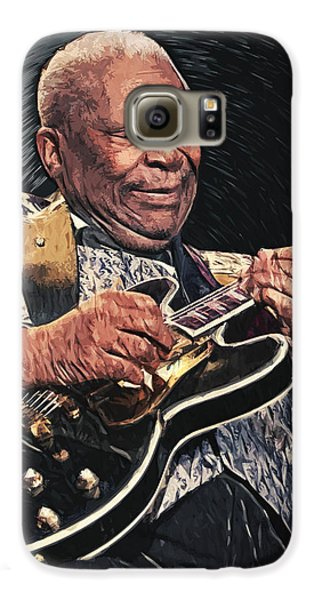 B.b. King II Galaxy S6 Case by Taylan Apukovska