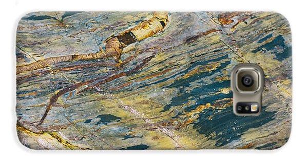 Beach Rock Galaxy S6 Case by Georgia Fowler