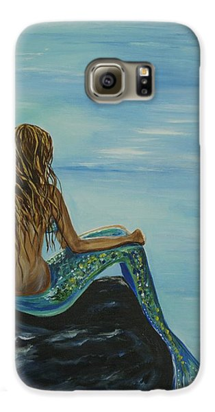 Beautiful Magic Mermaid Galaxy S6 Case by Leslie Allen