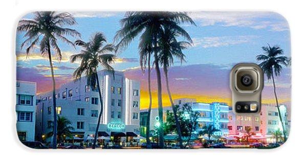 Beautiful South Beach Galaxy S6 Case by Jon Neidert