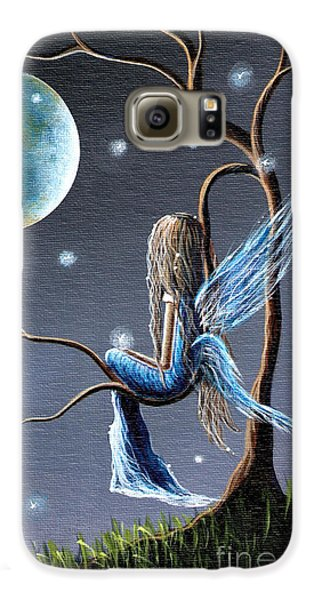 Fairy Art Print - Original Artwork Galaxy S6 Case by Shawna Erback