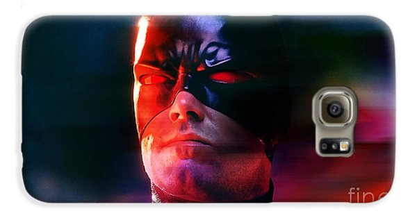 Ben Affleck Daredevil Galaxy S6 Case by Marvin Blaine