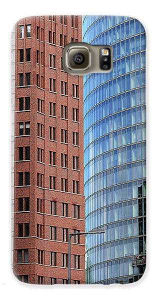 Berlin Buildings Detail Galaxy Case by Matthias Hauser