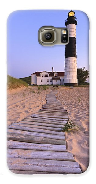 Big Sable Point Lighthouse Galaxy S6 Case by Adam Romanowicz