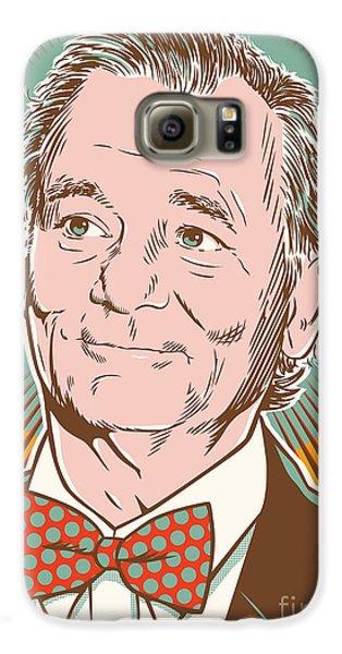 Bill Murray Pop Art Galaxy S6 Case by Jim Zahniser