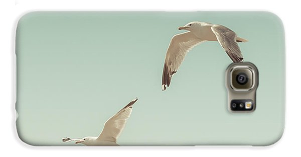 Birds Of A Feather Galaxy S6 Case by Lucid Mood