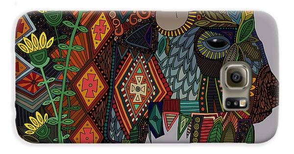 Bison Heather Galaxy S6 Case by Sharon Turner