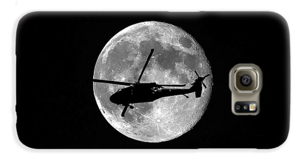 Black Hawk Moon Galaxy S6 Case by Al Powell Photography USA
